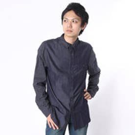ゲス GUESS L/S BRYANT CHAMBRAY MIX SHIRT (INDG)