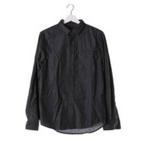 ゲス GUESS L/S BRYANT CHAMBRAY MIX SHIRT (JBLK)