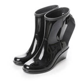 ルクールタンドル le coeur tendre レインブーツ レディース 長靴 Luna Short (Black)