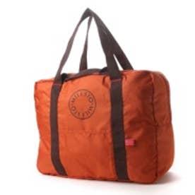 ミレスト MILESTO MILESTO UATILITY ポケッタブルボストンバッグ 35L (オレンジ)