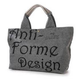 アンチフォルムデザイン Anti-Forme Design LOGO BAG ビッグトート(ウール) (ブラック)