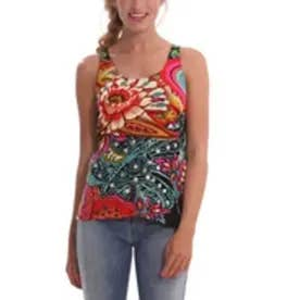 デシグアル Desigual TS_ANNE(SIMPLY GREEN)