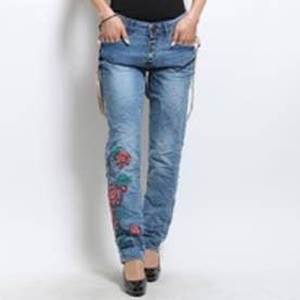 デシグアル Desigual DENIM_BOYFRIEND SUSPENDERS(DENIM MEDIUM WASH)