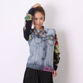 デシグアル Desigual CHAQ_ETHNIC DELUXE (DENIM MEDIUM WASH)