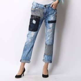 デシグアル Desigual DENIM_MULATO BOYFRIEND (DENIM MEDIUM WASH)