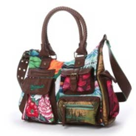 デシグアル Desigual BOLS_LONDON MEDIUM ME (GREEN)