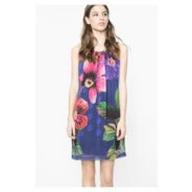 デシグアル Desigual VEST_FLOWER (MIDNIGHT)