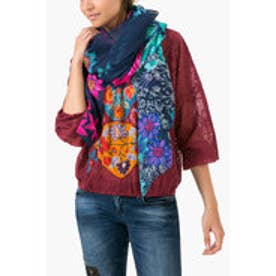 デシグアル Desigual FOULARD_RECTANGLE NEW DANC (NAVY)