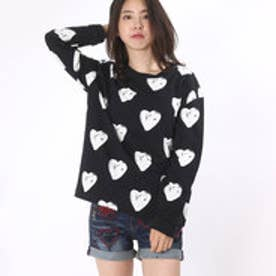 デシグアル Desigual SWEAT_BLACK3 (NEGRO)