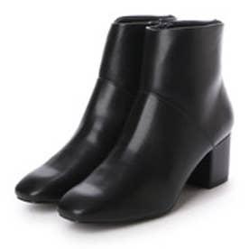 ランダ RANDA スクエアトゥショートブーツ (BLACK)