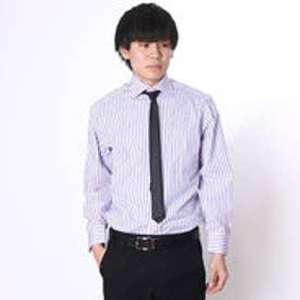 大丸・松坂屋 カミチッシマ Camicissima レギュラーフィット 長袖ワイドカラーシャツ (ピンク)