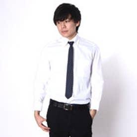 大丸・松坂屋 カミチッシマ Camicissima スリムフィット 長袖ボタンダウンシャツ (ホワイト)