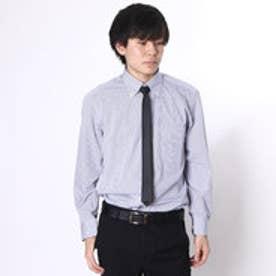 大丸・松坂屋 カミチッシマ Camicissima スリムフィット 長袖ボタンダウンシャツ (ブルー)