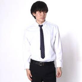 大丸・松坂屋 カミチッシマ Camicissima レギュラーフィット 長袖ボタンダウンシャツ (ホワイト)