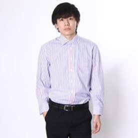 大丸・松坂屋 カミチッシマ Camicissima スリムフィット 長袖ワイドカラーシャツ (ピンク)