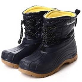 ゴールデンレトリバー Golden Retriver 防寒ブーツ(4?防水撥水付き) (NAVY/YEL)