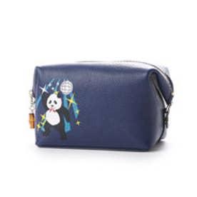 ケイタマルヤマ アクセサリーズ KEITAMARUYAMA accessories DISCO-PANDA ポーチ (ブルー)