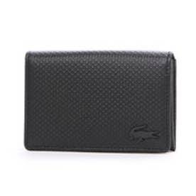 ラコステ LACOSTE CHANTACO MEN カードケース (ブラック)