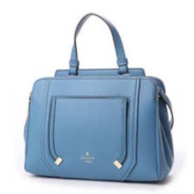 ランバン オン ブルー LANVIN en Bleu アンジェリーナ 2wayハンドバッグS (ブルー)