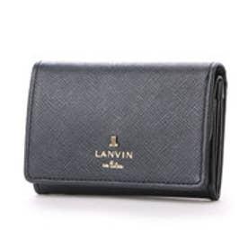 ランバン オン ブルー LANVIN en Bleu リュクサンブール 3つ折り財布 (ダークネイビー)