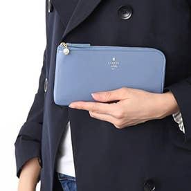 ランバン オン ブルー LANVIN en Bleu シャペル Lファスナー長財布 (ブルー)