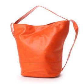 ルサックアダム Les sacs Adam 1980 ポニー 2wayトートバッグ (オレンジ)