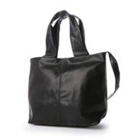 ルサックアダム Les sacs Adam 1980 ポニー トートバッグ (ブラック)