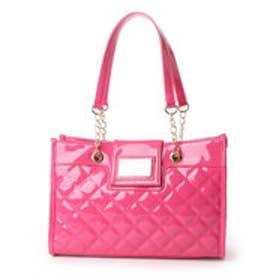 ピンキーガールズ Pinky Girls 【Pinky Girls ピンキーガールズ】キルト加工A4トートバッグ (ピンク)