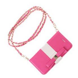 ビバユー VIVAYOU 【VIVAYOU ビバユー】リボンポイントiphone6(6S)用ケース (ピンク)