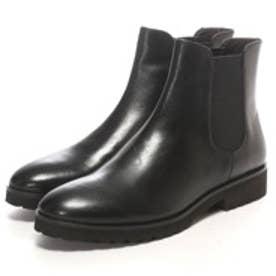 エルビオ ザノン ELVIO ZANON ショートブーツ (ブラック)
