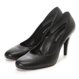 マミアン MAMIAN 美脚フォーマルパンプス:足が痛くない(なりにくい)9cmヒール ラウンドトゥ パンプス/日本製:ブラックスムース/【 iCoN 】BASIC 90 R (2934)(ブラック)