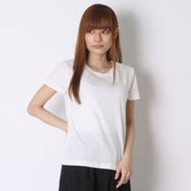 ダズリン dazzlin 【dazzlin】シンプルクルーネックTシャツ (ホワイト)