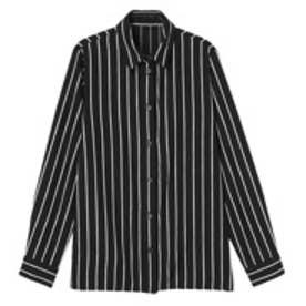 エモダ EMODA 【M】color stripe SH (ブラック)