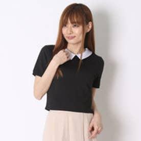 エモダ EMODA 【AD】チェックFIT TOP (ブラック)