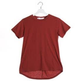 ラグナムーン LAGUNAMOON 【CASUAL】Back Twist Tシャツ (ダークオレンジ)
