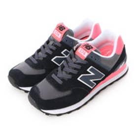 ニューバランス new balance NB WL574 CPL (ブラック/ピンク)