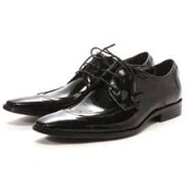ロコンド 靴とファッションの通販サイトレッドカバーREDCOVER本革デザインドレスシューズ(ブラックエナメル)