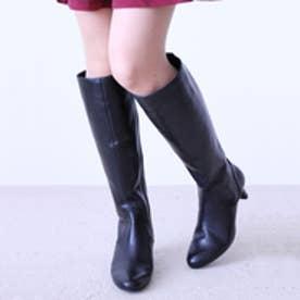 ソフィアコレクション Sophia collection 本革ロングブーツ (ブラック)