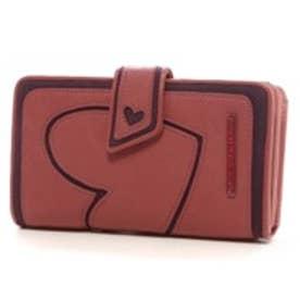 アガタ ルイス デ ラ プラダ AGATHA RUIZ DE LA PRADA ハートアップリケ大容量財布(ピンク)