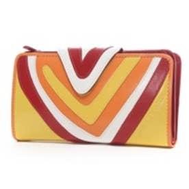 アガタ ルイス デ ラ プラダ AGATHA RUIZ DE LA PRADA 本革ポケットたくさん大容量財布レギュラー (イエロー)