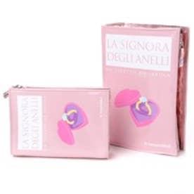 カモミッラ Camomilla ブックポーチ大小セット (ピンク)