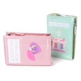 カモミッラ Camomilla ブックポーチ小色違いセット (アクア/ピンク)
