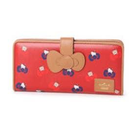 ホールマーク Hallmark 【ハローキティコラボ】大容量横長財布 (RED)