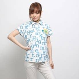 ホールマーク Hallmark カットポロシャツ(ブルー)