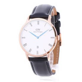ダニエル ウェリントン Daniel Wellington Dapper Sheffield Rose gold 38mm (BLACK)