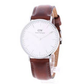ダニエル ウェリントン Daniel Wellington St Andrews Silver 36mm (BROWN)