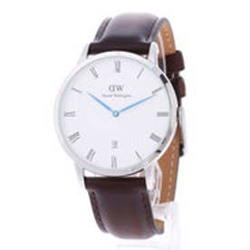 ダニエル ウェリントン Daniel Wellington Dapper Bristol Silver 38mm (D/BROWN)