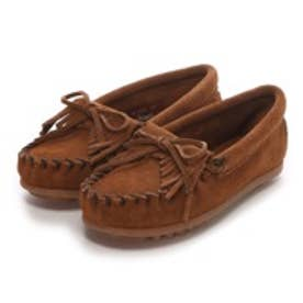 【Kid's】ミネトンカ MINNE TONKA KILTY SUEDE MOC(Dusty Brown)