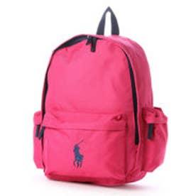 ポロ Polo BIG PONY BACK PACK LG (Ultra Pink/Navy PP)