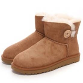 アグ UGG Mini Bailey Button II(チェスナット)